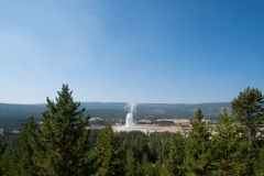 Old Faithful From Afar