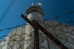 Guard Tower On Israeli Border