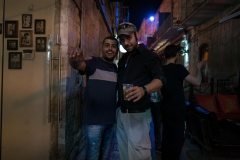 Two Blokes, Partying In Jerusalem