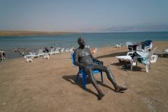Mud Bather, The Dead Sea