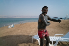 Spaniard Lathering Up, The Dead Sea