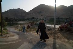 Monk Serving Muslims