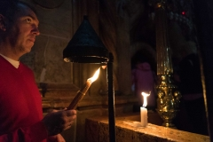 Worshiper Praying, Church of the Holy Sepulcre