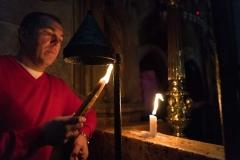 Worshiper Praying, Church of the Holy Sepulcre