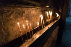 Prayer Candles, Church of the Holy Sepulcre