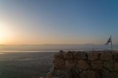 Sunrise On Top Masada