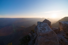 Sunrise At Mather Point