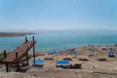 Overlooking The Dead Sea