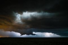 Wall Cloud, Waiting For Tornado To Drop