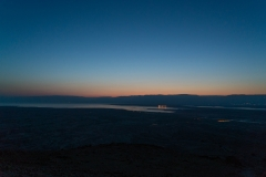 Sunrise On Masada, Israel